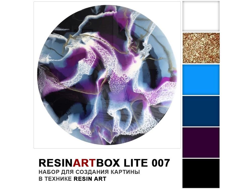 Набор для создания картины эпоксидной смолой ResinArtBox 007