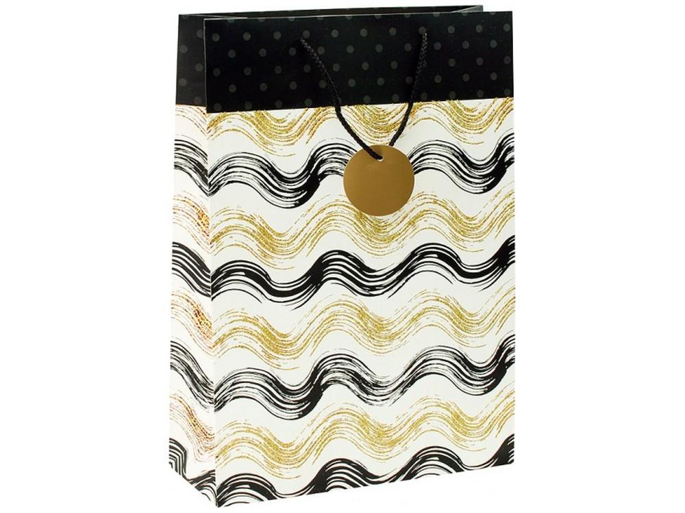 Подарочный пакет «Золотистые волны»