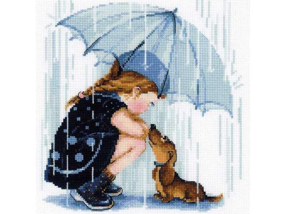 Набор для вышивания «Дождик»Вышивка крестом Риолис<br><br>