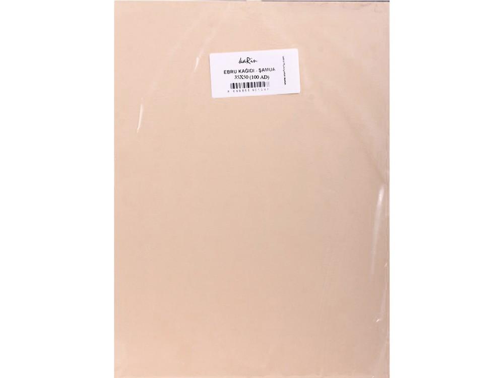 Бумага для эбру шамуа 35x50 см (100 листов), Karin