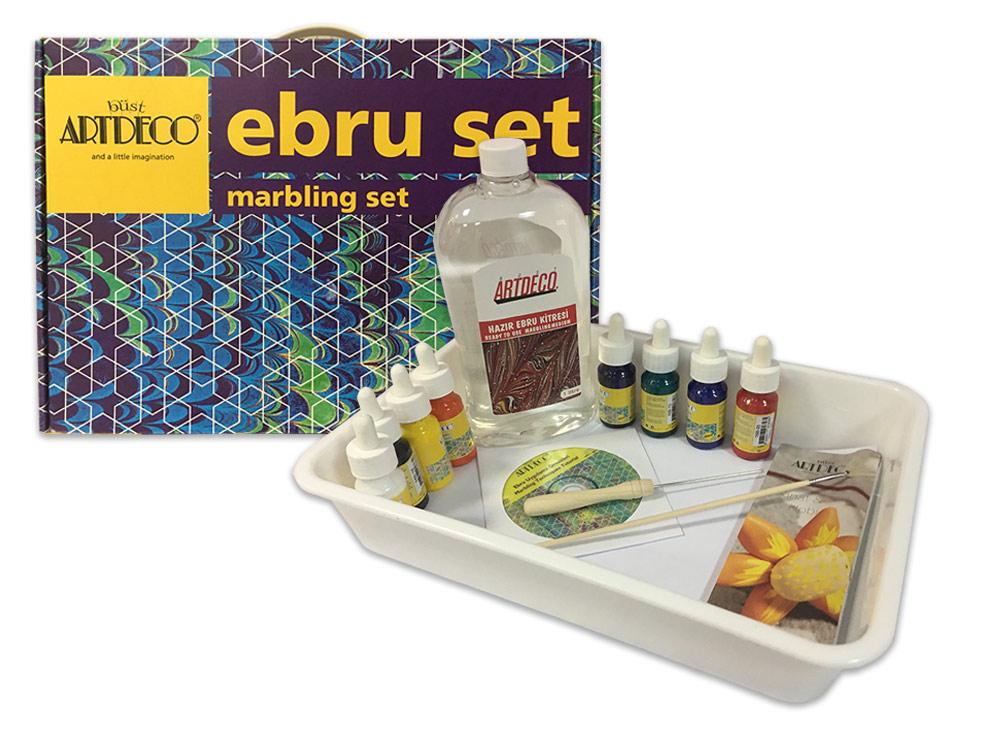 Купить Набор для эбру 8 цветов, ArtDeco, Y-016 ES-3