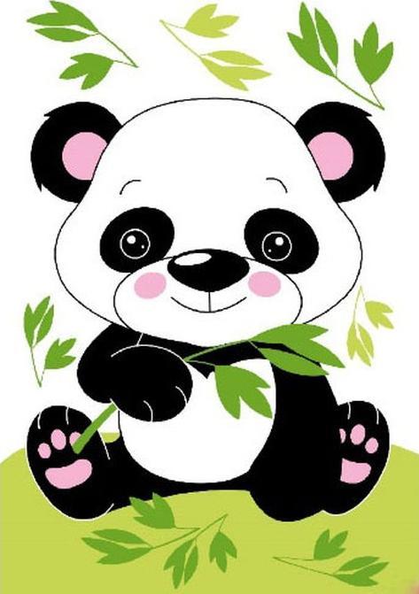 Картина по номерам «Маленькая панда»Molly<br><br><br>Артикул: CX3133_M<br>Основа: Холст<br>Сложность: легкие<br>Размер: 20x30 см<br>Количество цветов: 5<br>Техника рисования: Без смешивания красок