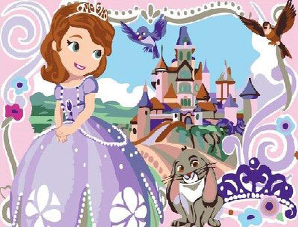 Картина по номерам «Принцесса София»Paintboy (Premium)<br><br><br>Артикул: CX3321<br>Основа: Холст<br>Сложность: легкие<br>Размер: 20x30 см<br>Количество цветов: 18<br>Техника рисования: Без смешивания красок