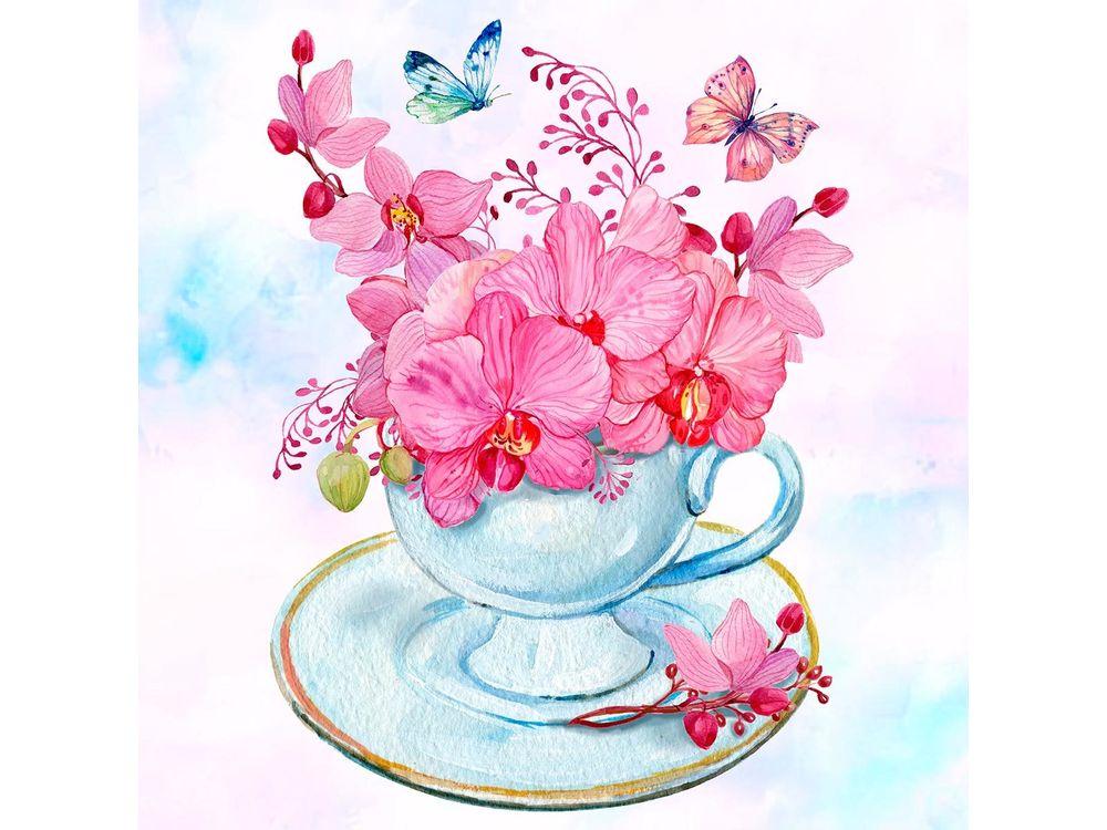 Папертоль «Розовые орхидеи»