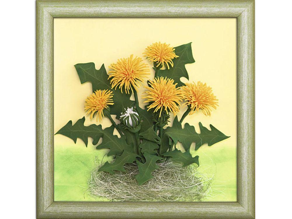 3D-картина из фоамирана «Одуванчики»