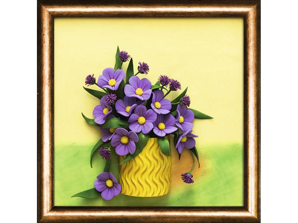 3D-картина из фоамирана «Полевые цветы»Наборы из фоамирана<br><br><br>Артикул: FM-03<br>Размер: 27x27 см<br>Возраст: от 10 лет