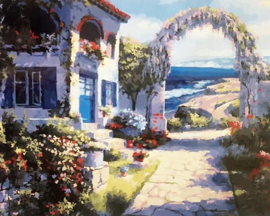 Картина по номерам «Дом на взморье» Сунг Сэм ПаркаPaintboy (Premium)<br><br><br>Артикул: GX22911<br>Основа: Холст<br>Сложность: сложные<br>Размер: 40x50 см<br>Количество цветов: 28<br>Техника рисования: Без смешивания красок
