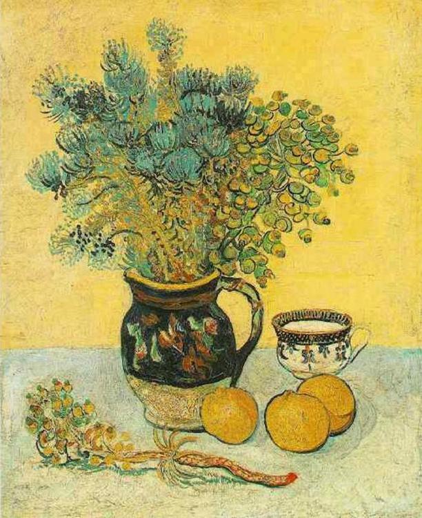 Картина по номерам «Майолика с полевыми цветами» Ван ГогаMolly<br><br>