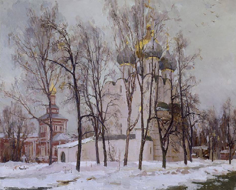 Картина по номерам «Дыхание весны» Андрея ДарееваMolly<br><br>