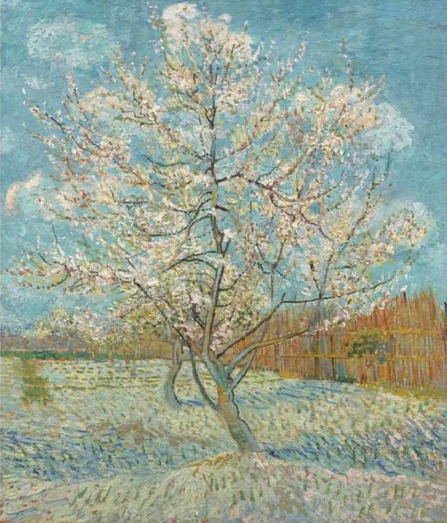 Картина по номерам «Персик в цвету» Ван ГогаРаскраски по номерам<br><br>