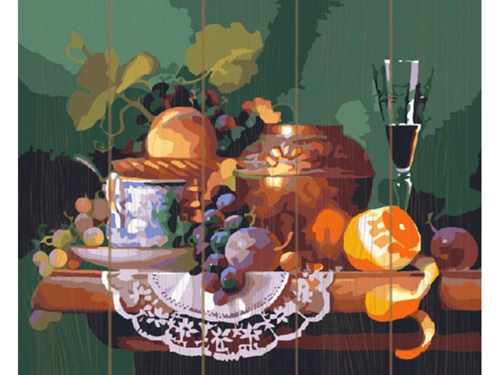 Картина по номерам по дереву Molly «Завтрак поэта»Картины по номерам по дереву<br><br><br>Артикул: GXT6130<br>Основа: Деревянное панно<br>Сложность: средние<br>Размер: 40x50 см<br>Количество цветов: 24<br>Техника рисования: Без смешивания красок