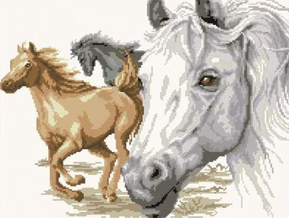 Алмазная вышивка «Портрет лошади»Molly<br><br><br>Артикул: GZ135<br>Основа: Холст на подрамнике<br>Сложность: сложные<br>Размер: 40x50 см<br>Выкладка: Полная<br>Количество цветов: 16<br>Тип страз: Круглые непрозрачные (акриловые)
