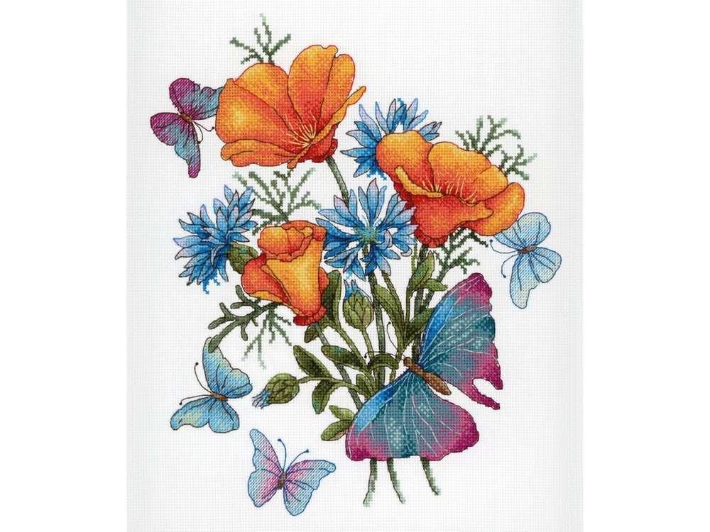 Набор для вышивания «Ароматы любимых цветов»Вышивка крестом<br><br>