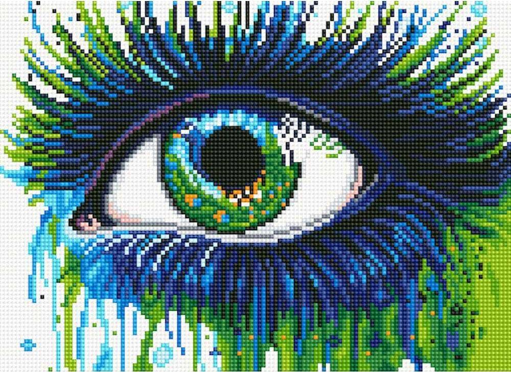 Алмазная вышивка «Павлиний глаз»Алмазная вышивка<br>Обновленная серия алмазной мозаики от бренда Цветной - это яркие популярные сюжеты и расширенная комплектация качественными составляющими. <br><br><br>Особенности алмазной вышивки от Цветной:<br><br>тканевый холст имеет ярко выраженную приятную на ощупь бархатисту...<br>