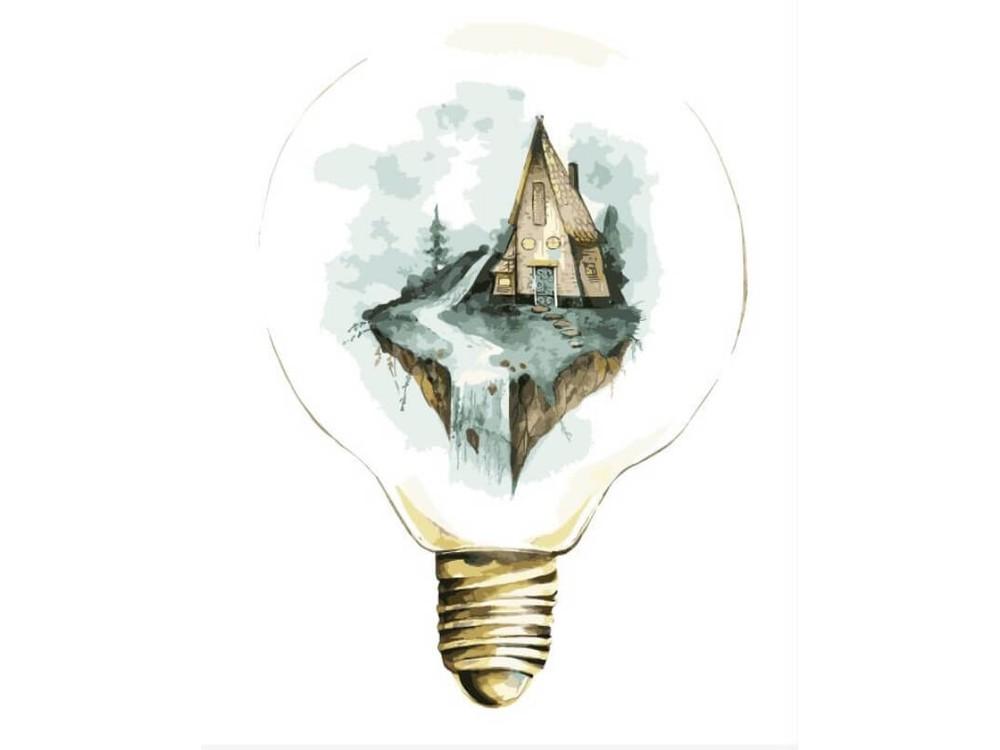 Картина по номерам «Мир под стеклом»Раскраски по номерам<br><br>