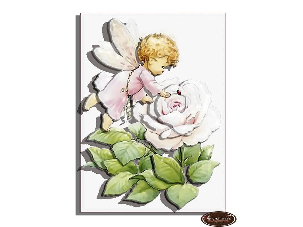 Папертоль «Ангел розочка»