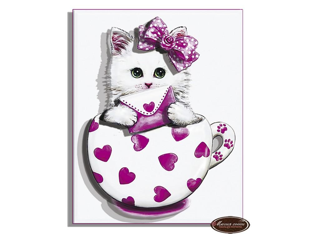 Папертоль «Коточашка - сердечко»