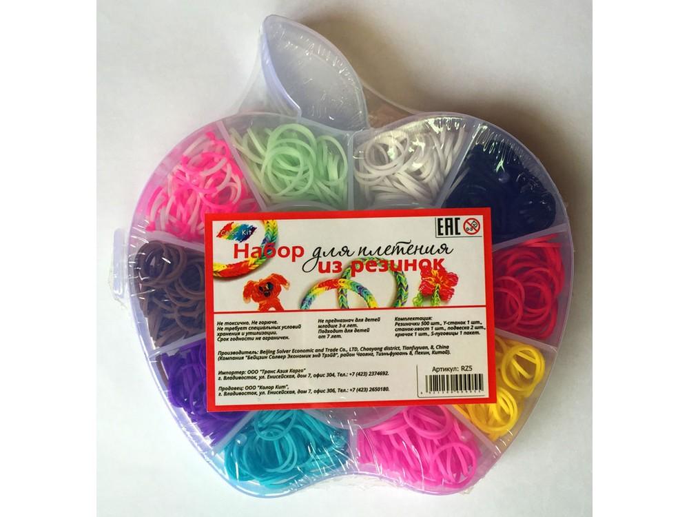 Набор для плетения из резиночек «Яблоко»