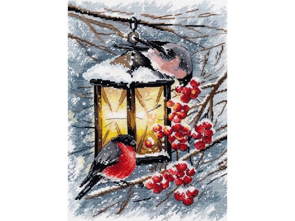 Купить Вышивка крестом, Набор для вышивания «Рождественский свет», Овен