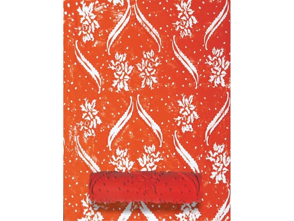 Узорный валик «Вьющийся цветок»Узорные валики для декора стен<br>Рамка для узорного валика приобретается отдельно!<br> <br> Узорный валик - универсальное приспособление для декорирования практически любой поверхности - от дерева до ткани. Просто использовать и легко ухаживать - красивый узор получится в любом случае, даже ...<br><br>Артикул: 209