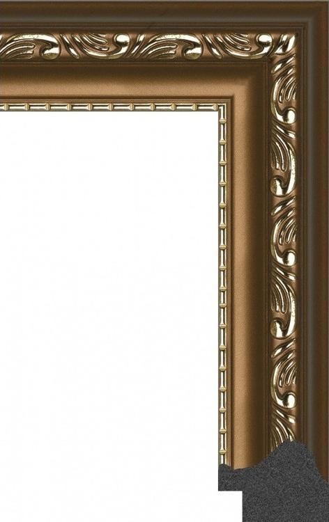 Рамка без стекла для картинБагетные рамки<br><br><br>Артикул: 307514-3030<br>Размер: 30x30 см<br>Цвет: Коричневый с позолоченным рисунком<br>Ширина: 30 мм<br>Материал багета: Пластик<br>Толщина: 26 мм
