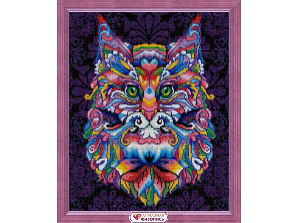Алмазная вышивка «Мистический кот»Алмазная вышивка<br><br>