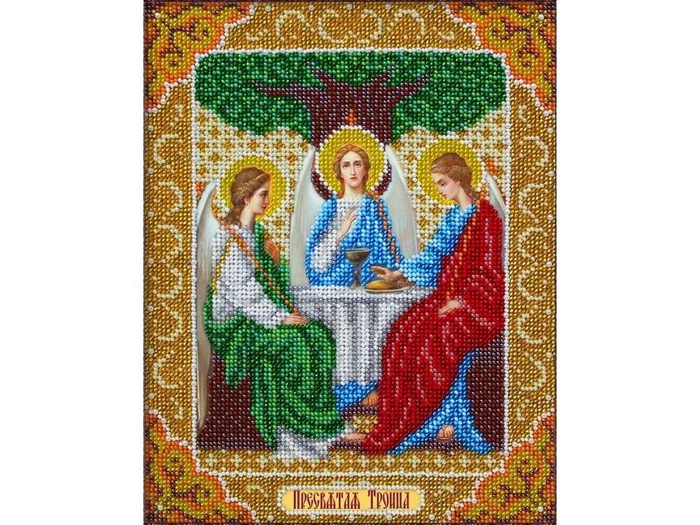 Набор вышивки бисером «Святая Троица»Вышивка бисером<br><br>