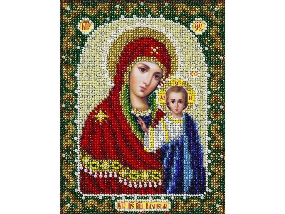 Набор вышивки бисером «Богородица Казанская»Вышивка бисером<br><br>