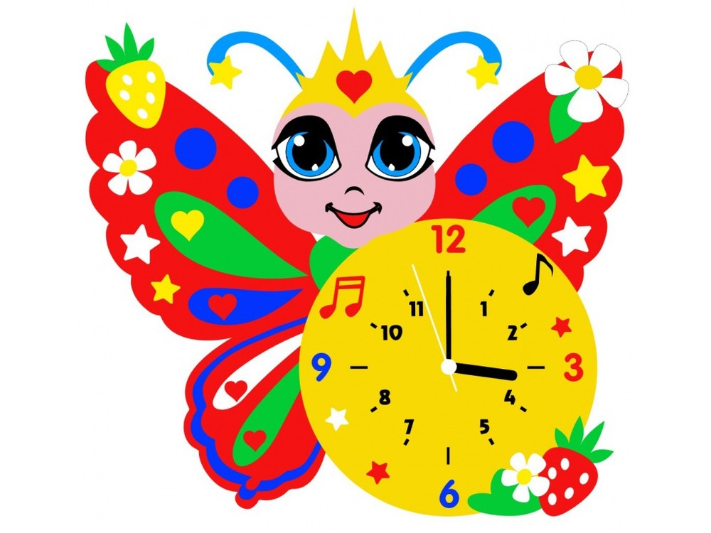 Набор для творчества «Бабочка часы»