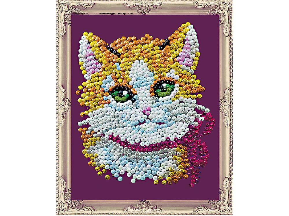Мозаика из пайеток «Кошечка»