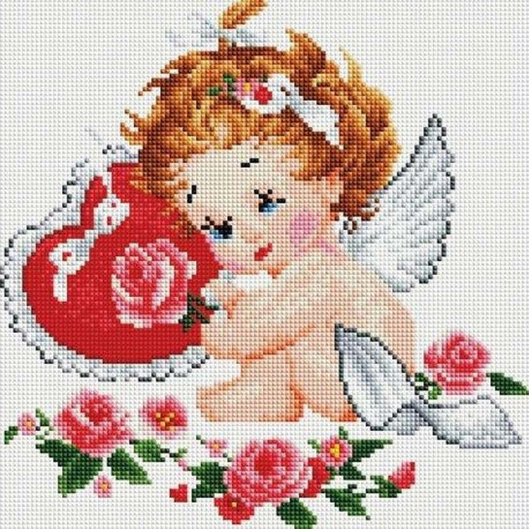 Алмазная вышивка «Ангелок»Алмазная вышивка<br><br>