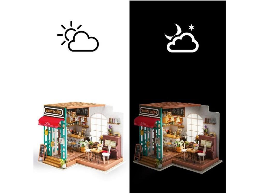 Набор для создания миниатюры (румбокс) «Любимая кофейня»