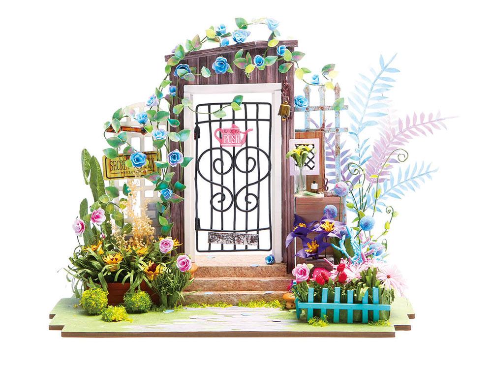 Набор для создания миниатюры (румбокс) «Садовая калитка»