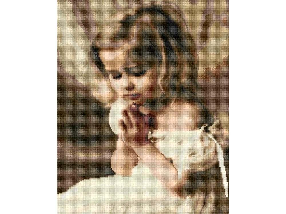 Алмазная вышивка «Детская молитва»Алмазная вышивка Painting Diamond<br><br>