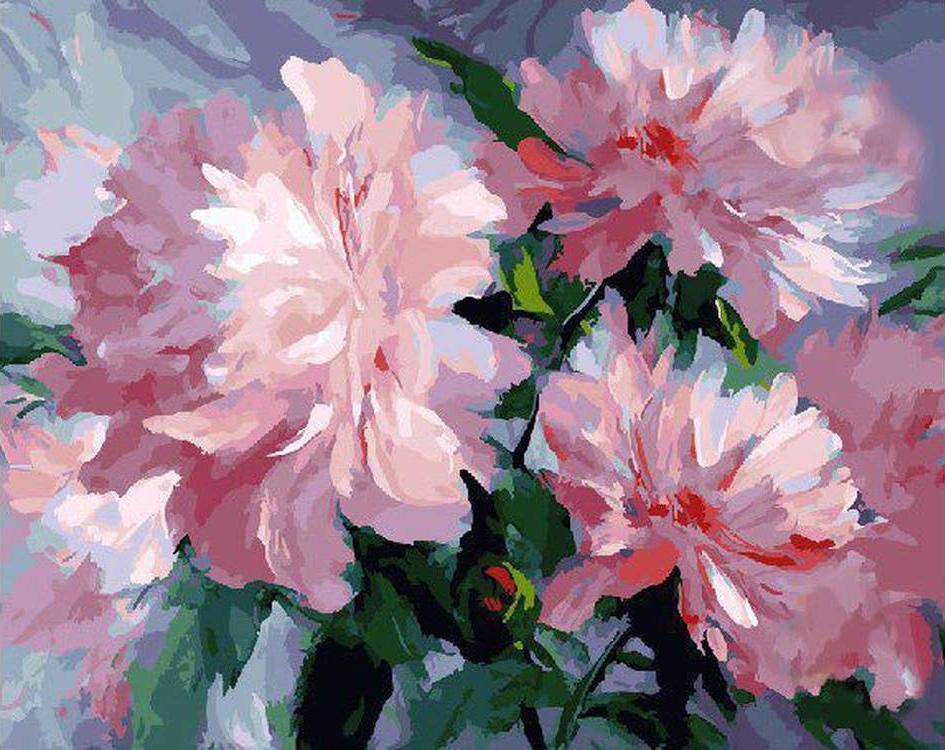 Картина по номерам «Розовое наслаждение»Paintboy (Premium)<br><br><br>Артикул: GX22229<br>Основа: Холст<br>Сложность: средние<br>Размер: 40x50 см<br>Количество цветов: 27<br>Техника рисования: Без смешивания красок