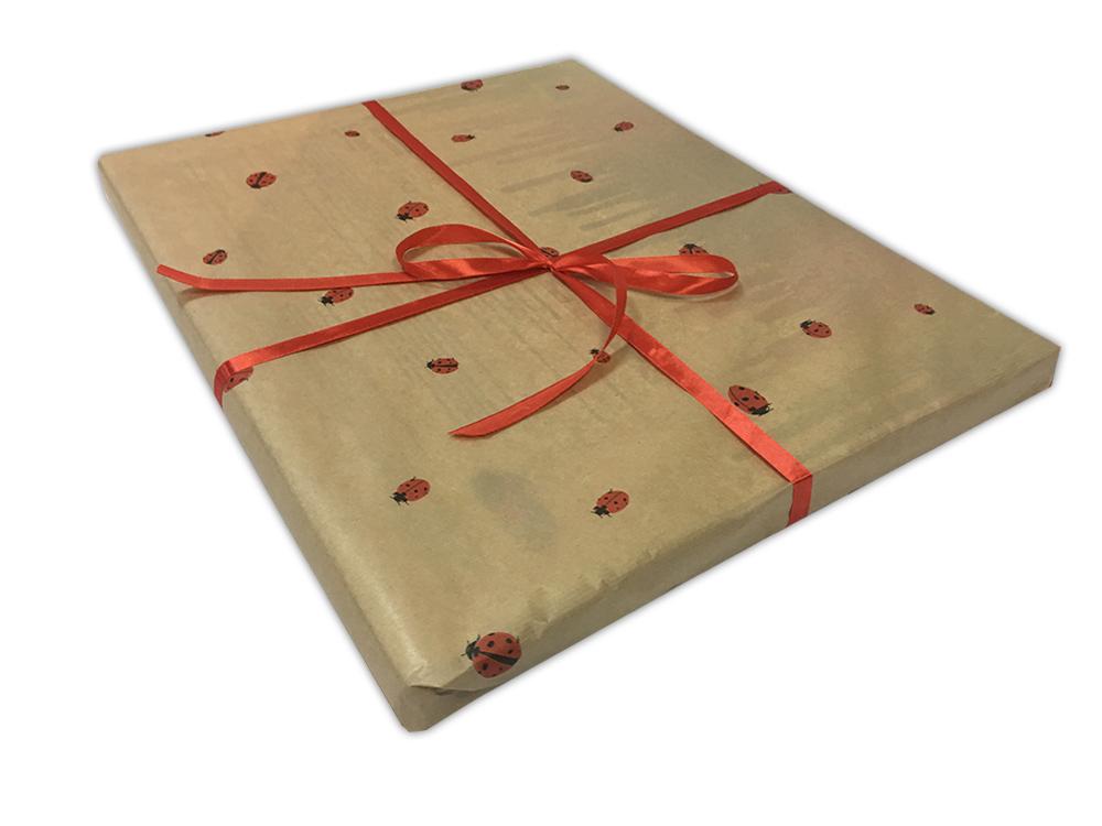 Подарочная упаковка «Божьи коровки»