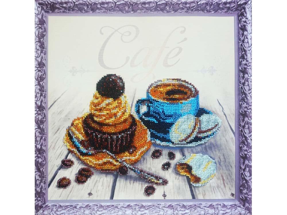 Набор вышивки бисером «Кофейный капкейк»Color KIT<br><br>