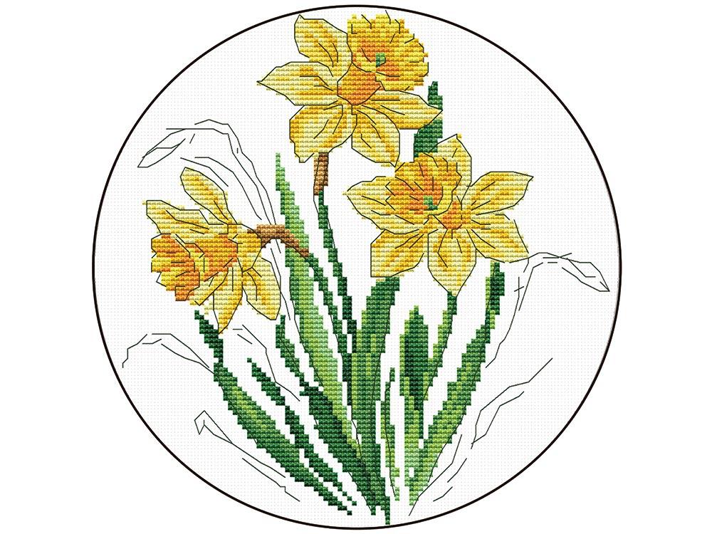 Набор для вышивания «Нарциссы» фото
