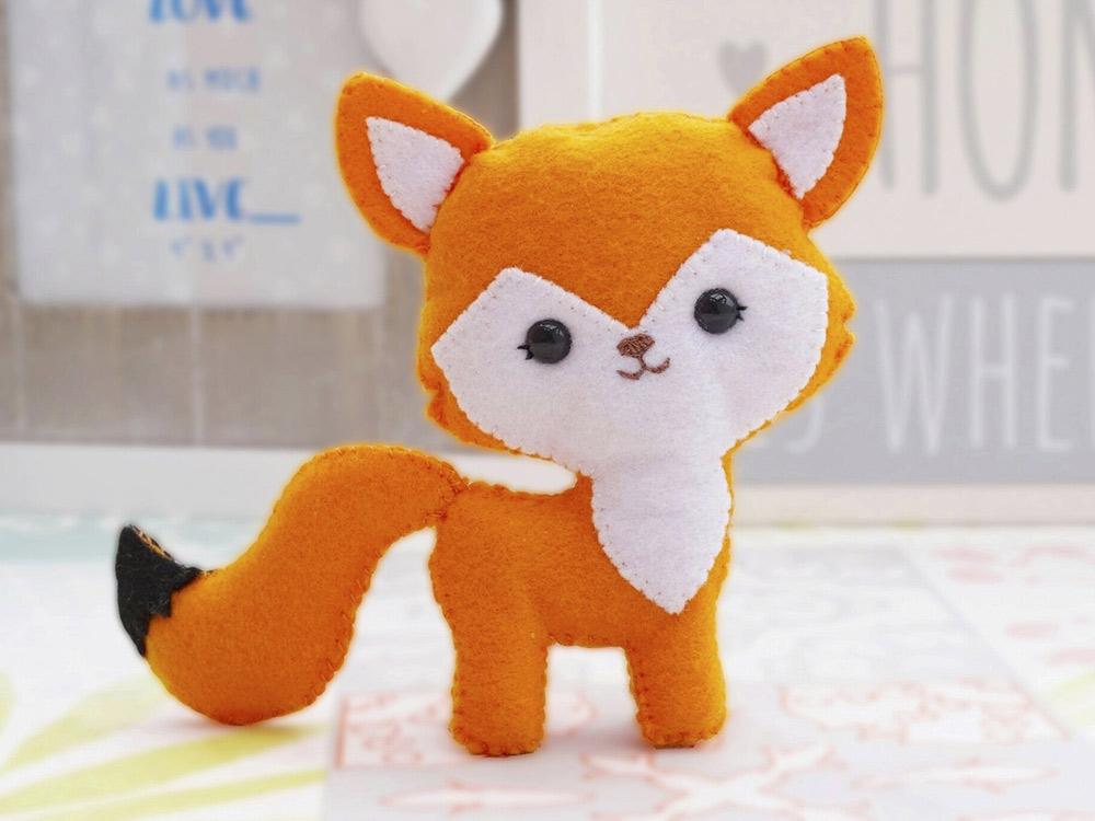 Набор для шитья игрушки «Лисичка Алиса»
