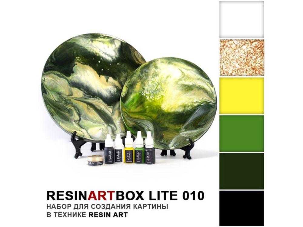 Набор для создания картины эпоксидной смолой ResinArtBox 010