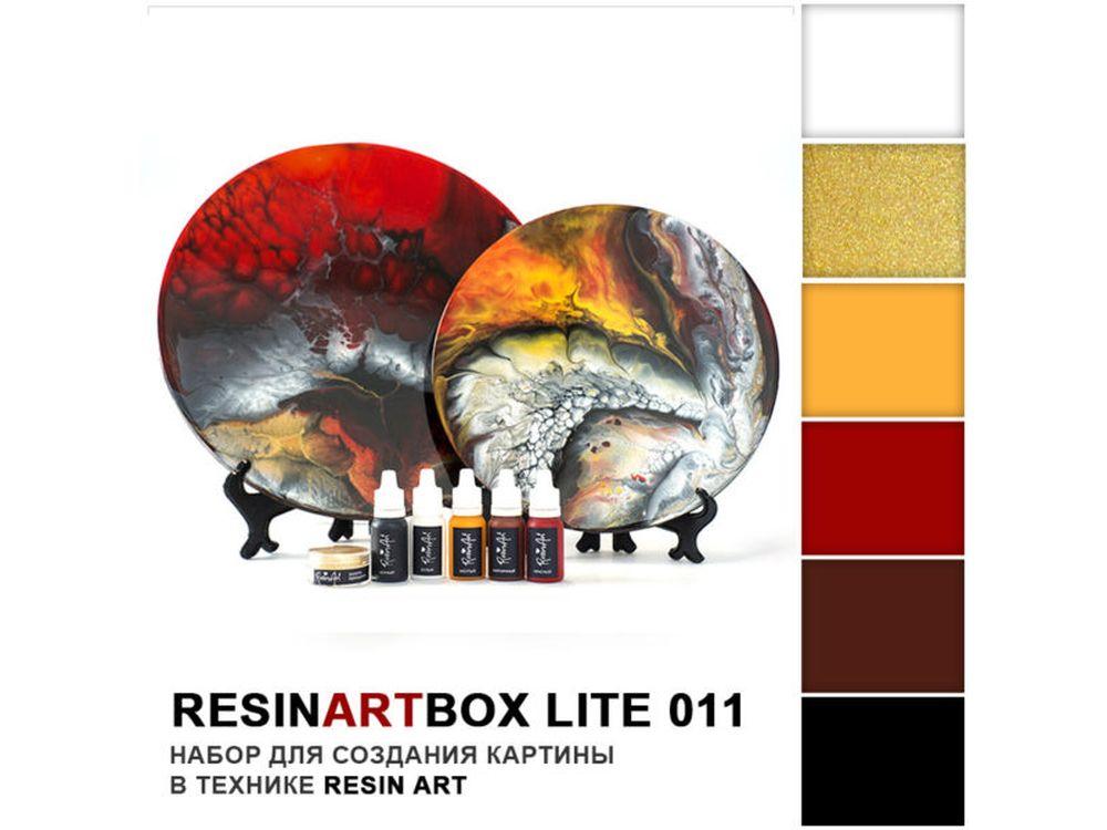Набор для создания картины эпоксидной смолой ResinArtBox 011