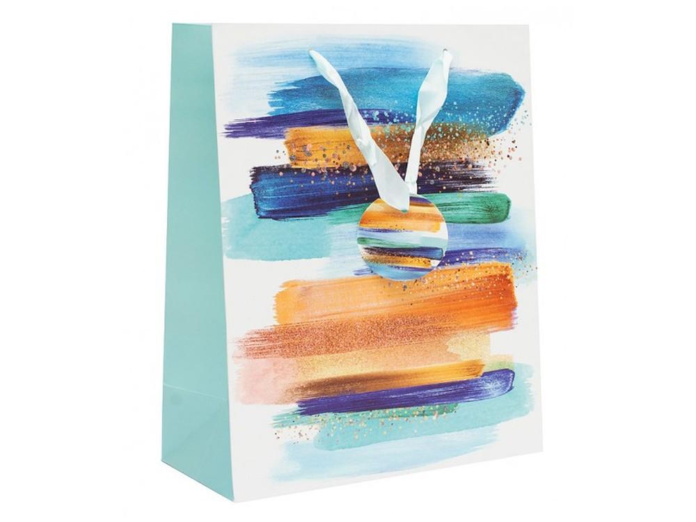 Подарочный пакет «Бирюзовая лента»