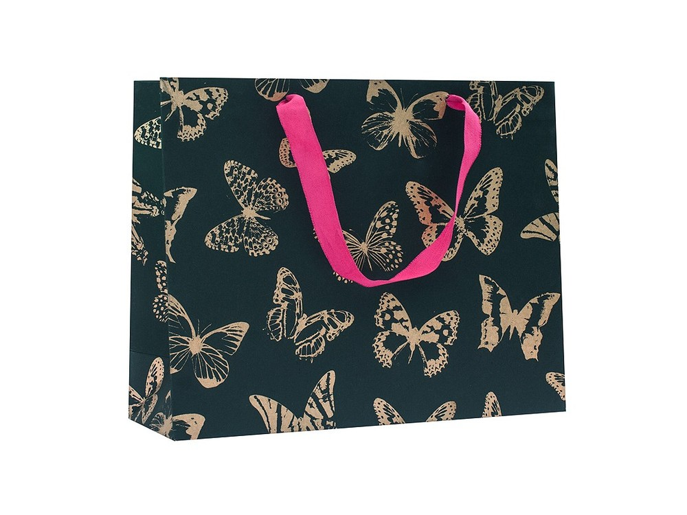 Подарочный пакет «Золотые бабочки»