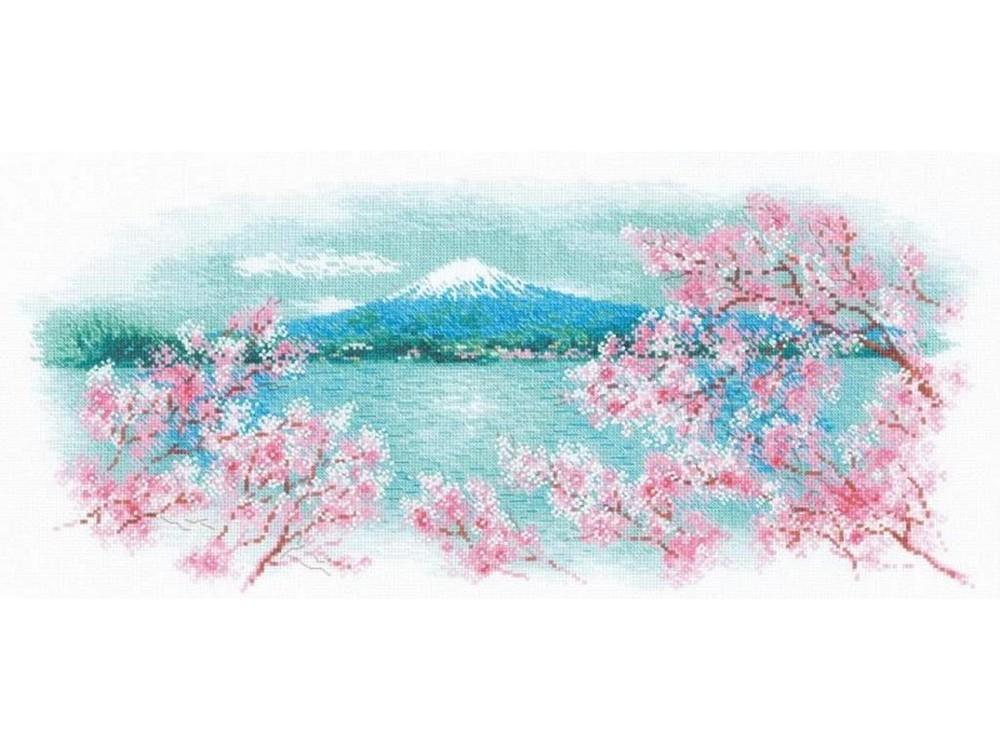 Набор для вышивания «Сакура. Фудзи»Смешанная техника<br><br>