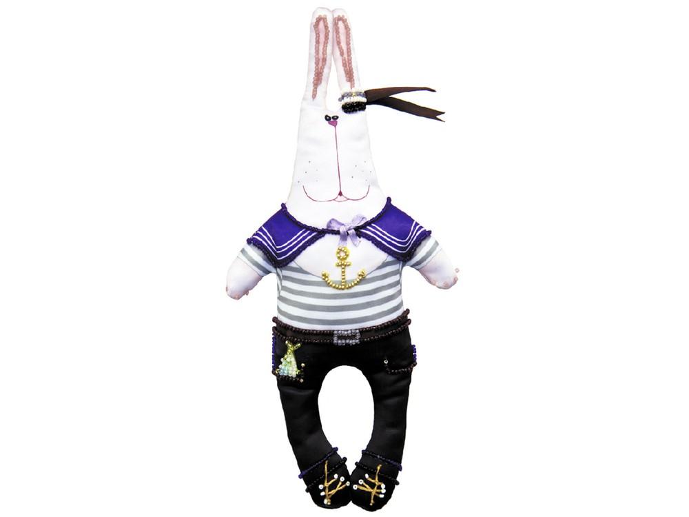 Набор для шитья и вышивания «Зайка Нестор-моряк»