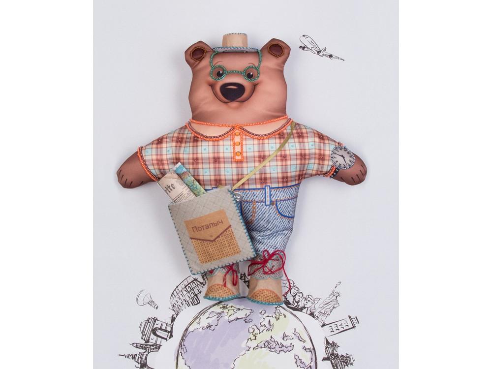 Набор для шитья и вышивания «Михаил Потапыч турист»Наборы для шитья игрушек<br><br>