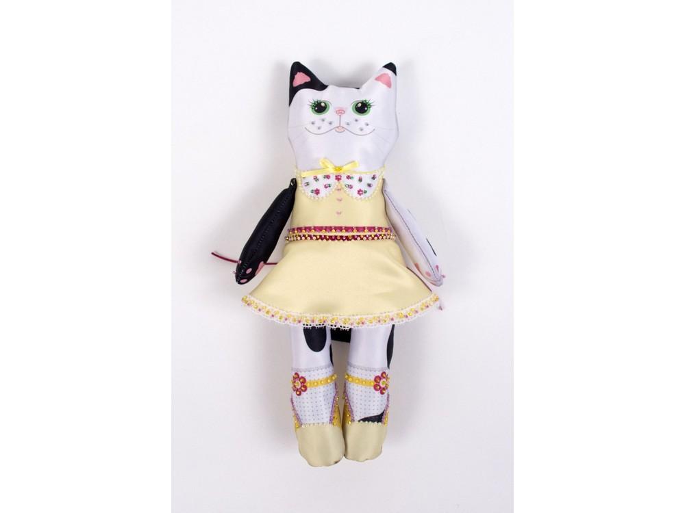 Набор для шитья и вышивания «Кошечка Глаша»