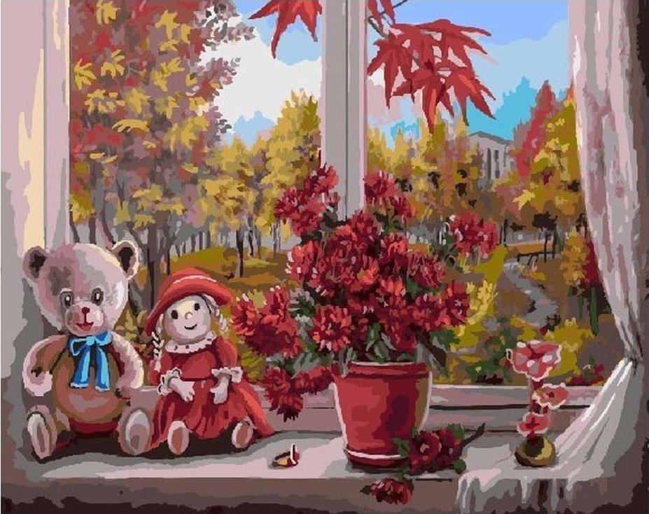 Купить Картина по номерам «Любимые игрушки» Валентины Валевской, Color KIT, Китай