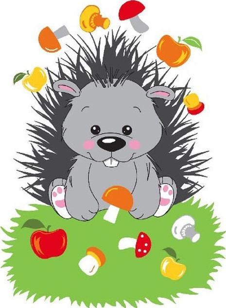 Картина по номерам «Маленький грибник»Molly<br><br>