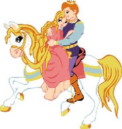 Картина по номерам «Спасенная принцесса»Раскраски по номерам<br><br>